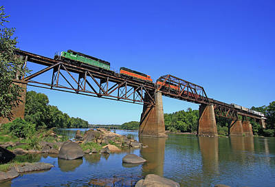 Photograph - Congaree River Train by Joseph C Hinson Photography