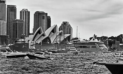 Photograph - Congestion In Front Of The Opera House by Miroslava Jurcik
