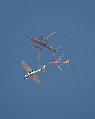 Photograph - Congestion In The Sky by Philip A Swiderski Jr