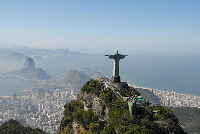 Raised Image Photograph - Congrats Rio De Janeiro by AnaVianna