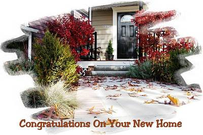 Digital Art - Congratulations On Your New Home by Max DeBeeson