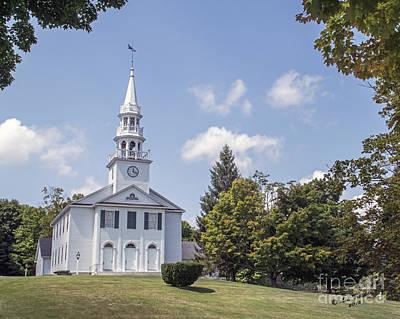 Warren Connecticut Photograph - Congregational Church by Linda Troski