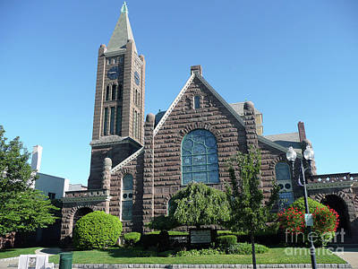 Photograph - Congregational Church Of Patchogue by Steven Spak