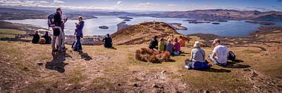 Photograph - Conic Hill Loch Lomond Scotland by Alex Saunders