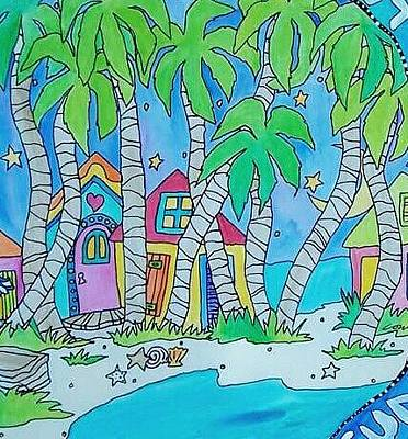 Painting - Coni's Island by Coni Brown
