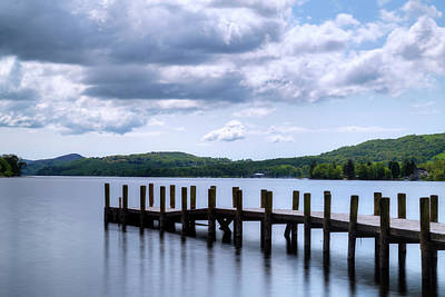 Berge Photograph - Coniston Water - Lake District by Joana Kruse