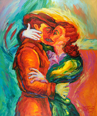 Conjoined Art Print by Ekaterina  Prozheyko
