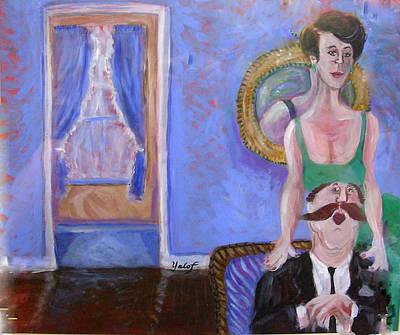 Painting - Conjugal Pose by Barbara Yalof