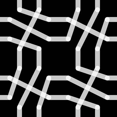 Drawing - Connect 4 - Kilo by REVAD David Riley