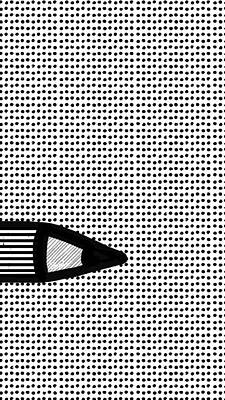 Connect The Dots Art Print by Stephanie Fonteyn