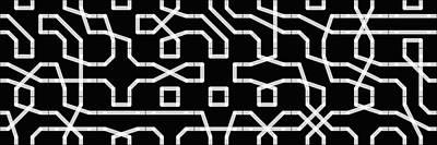 Connect Tile -alphabet- Art Print