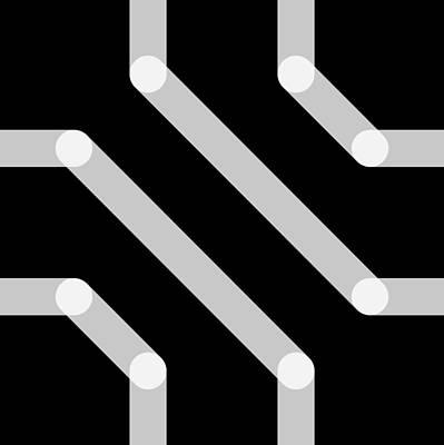 Drawing - Connect - Echo by REVAD David Riley