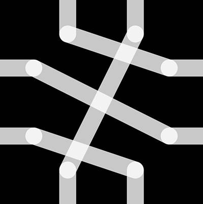Drawing - Connect - Kilo by REVAD David Riley