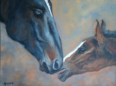 Painting - Connected by Debra Mickelson