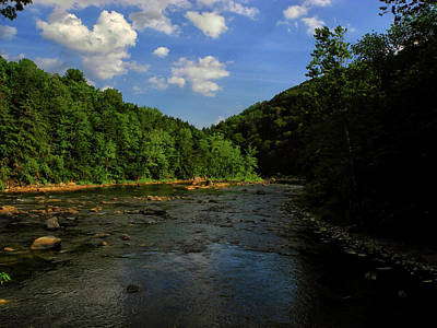 Photograph - Connecticut Appalachian Trail River by Raymond Salani III