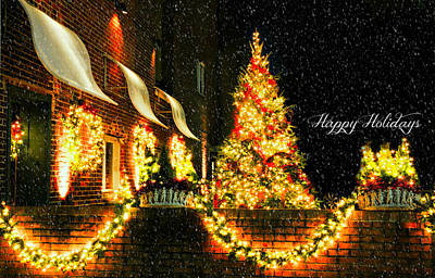 Photograph - Connecticut Christmas by Diana Angstadt