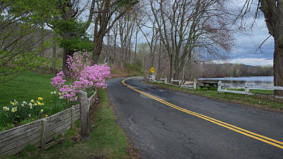 Photograph - Connecticut Country Road by Bill Wakeley