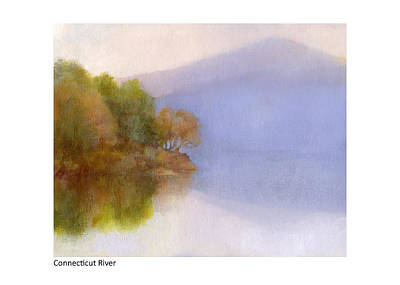 Painting - Connecticut River Amazing Blue by Betsy Derrick
