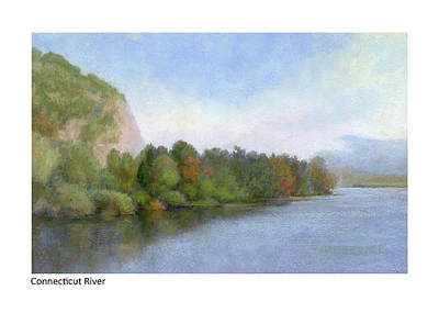Painting - Connecticut River Fairlee Palisades by Betsy Derrick