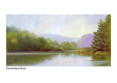 Painting - Connecticut River From River Road by Betsy Derrick
