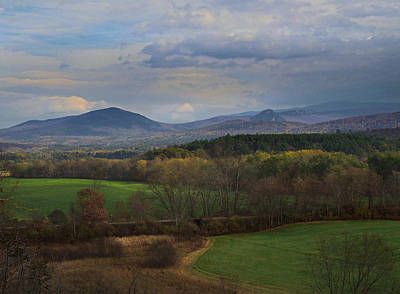 Photograph - Connecticut River Valley From Newbury Vermont by Nancy Griswold