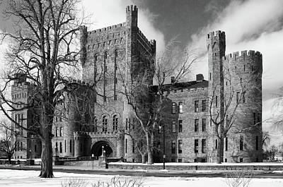 Art Print featuring the photograph Connecticut Street Armory 3997b by Guy Whiteley