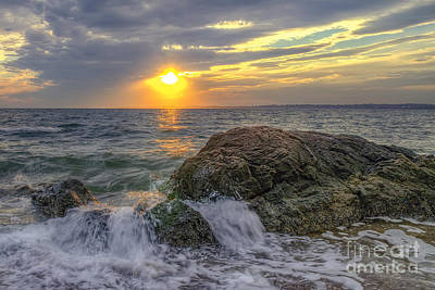 Photograph - Connecticut Sunset by Scott Wood