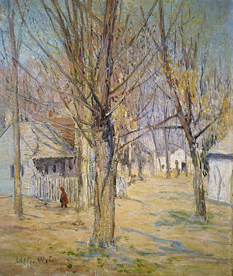Painting - Connecticut Village  by Julian Alden Weir