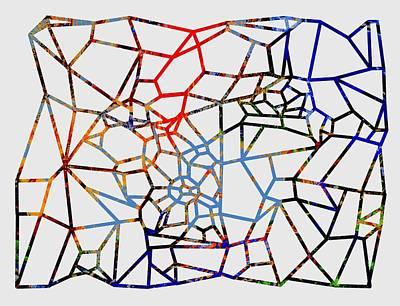 Digital Art - Connections by Cecilia Swatton