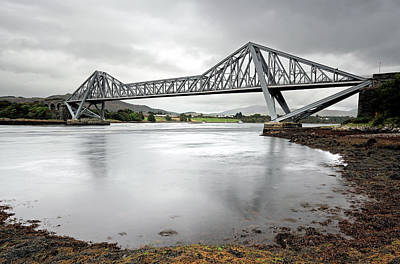 Connel Bridge Art Print