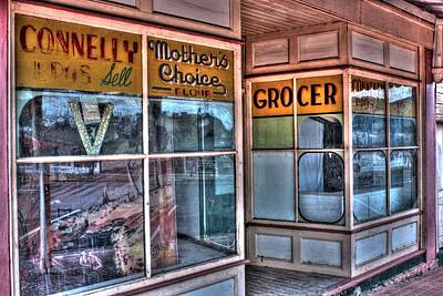 Photograph - Connelly Bros Store. by Ian  Ramsay