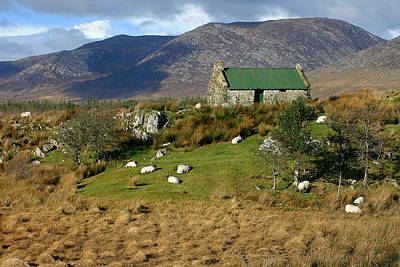 Photograph - Connemara Cottage Ireland by Pierre Leclerc Photography