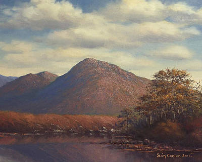 Conlon Painting - Connemara Landscape Revisited by Sean Conlon