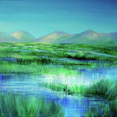 Painting - Connemara Reflections by K McCoy