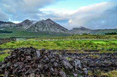 Photograph - Connemara Turf by Joe Ormonde