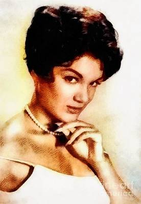 Jazz Royalty-Free and Rights-Managed Images - Connie Francis, Music Legend by John Springfield by John Springfield