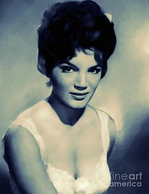 Music Royalty-Free and Rights-Managed Images - Connie Francis, Music Legend by Mary Bassett
