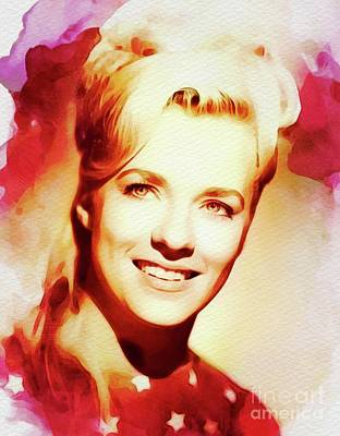 Music Paintings - Connie Smith, Country Music Legend by Esoterica Art Agency