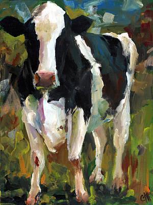 Connie The Cow Art Print