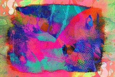 Connivance,just Another Texture Art Print by Jean Francois Gil
