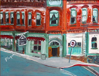 Connor Hotel In Jerome Art Print
