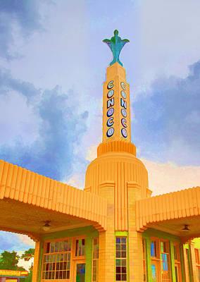 Photograph - Conoco Tower by Ricky Barnard