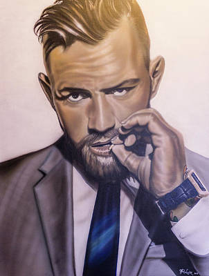 Painting - Conor Mcgregor by Hay Rouleaux