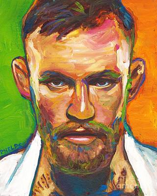 Painting - Conor Mcgregor by Robert Phelps