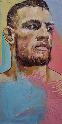 Conor Art Print by Michael Creese