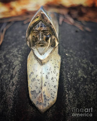 Photograph - Conquistador Hood Ornament by Terry Rowe