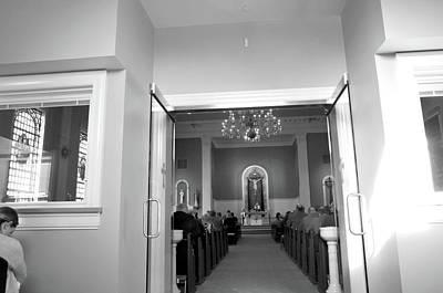 Lenten Sunday Mass Consecration Art Print