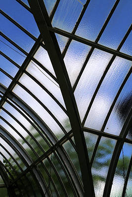 Photograph - Conservatory Glass by Mary Bedy