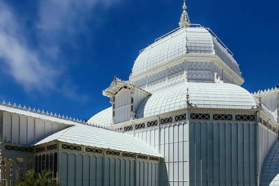 Conservatories Photograph - Conservatory Of Flowers Detail by Garry Gay