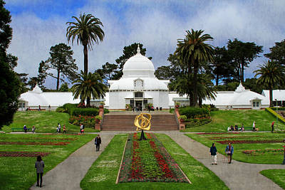 Photograph - Conservatory Of Flowers San Francisco by Bonnie Follett